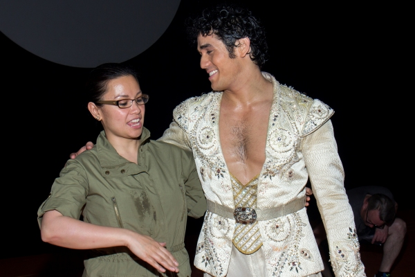 Lea Salonga, Adam Jacobs