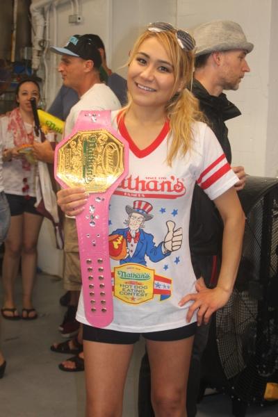 Womens Winner Miki Sudo