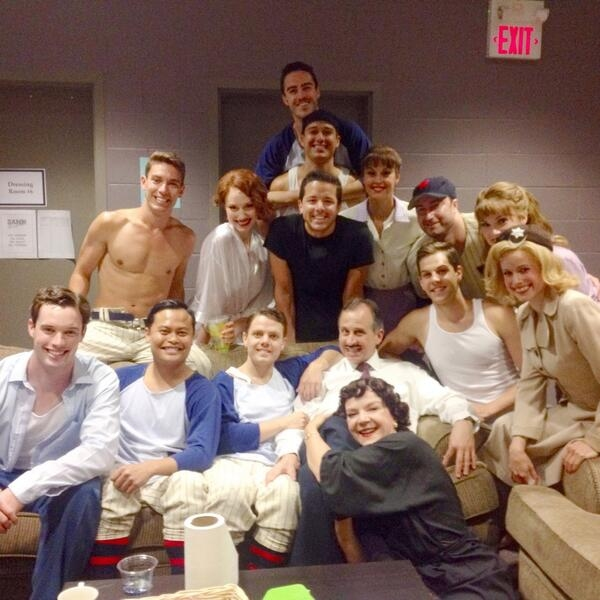 Photo Flash: Saturday Intermission Pics, July 5- BULLETS, CINDERELLA, NEWSIES and More Lounge Post-Holiday