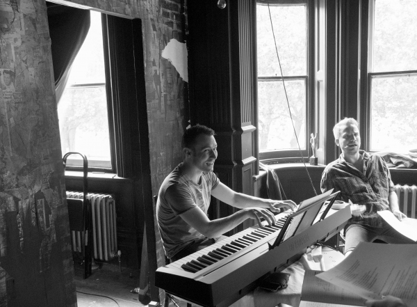 Photo Flash: Rehearsals Underway for Stephen Sondheim Society's GOD, July 8-12