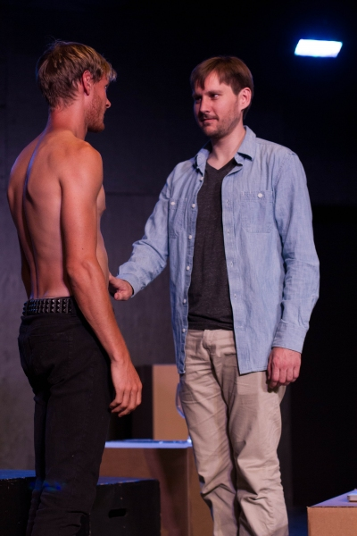 Photo Flash: NO HOMO at Hollywood Fringe, 7/25-31