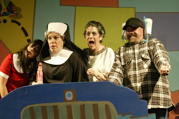 BWW Reviews: MAMA WON'T FLY Showcases Classic Comedic  Vaudeville Bits into Modern Road Trip Farcical Situations