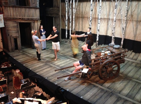 BWW Blog: Jesse Swimm of Goodspeed's FIDDLER ON THE ROOF - Ah, 5, 6, 7, 8...