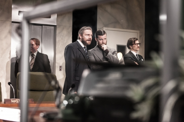 Forbes Mason, Martin Freeman, Philip Cumbus, Jo Stone-Fewings Photo