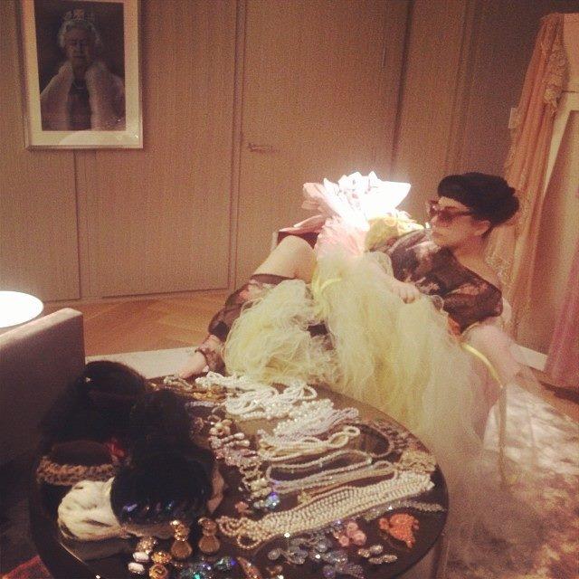 Lady Gaga Evokes Eliza Doolittle & References MY FAIR LADY