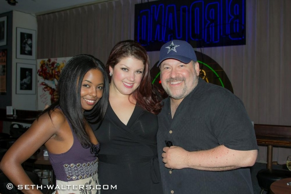 Adrienne Warren, Jane Monheit and Frank Wildhorn