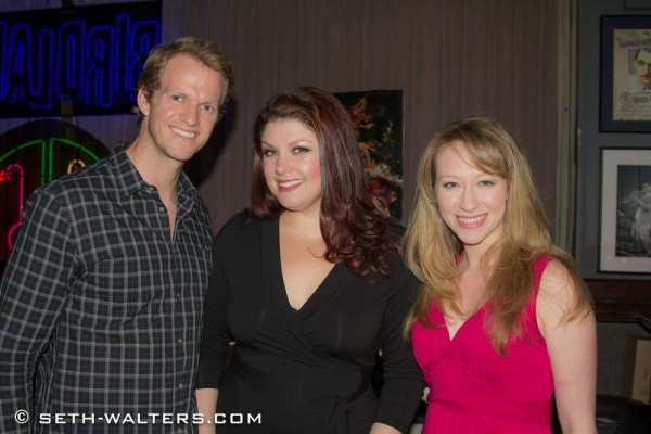 Jeffrey Pew, Jane Monheit and Kaitlyn Davidson Photo