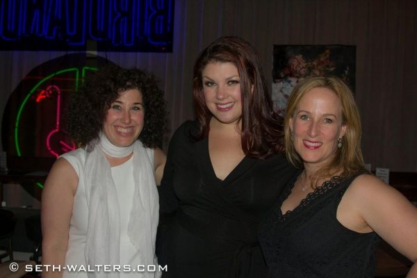 Marcy Heisler, Jane Monheit and Zina Goldrich
