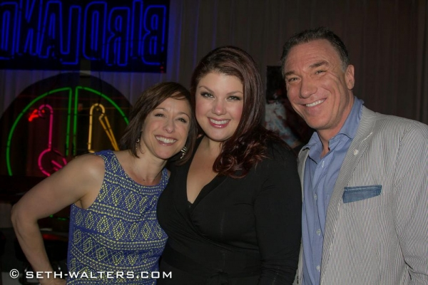 Paige Davis, Jane Monheit and Patrick Page