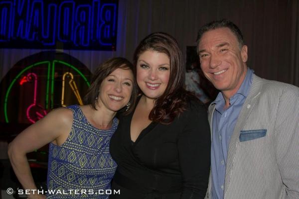 Paige Davis, Jane Monheit and Patrick Page