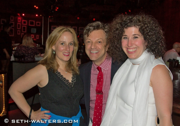 Zina Goldrich, Jim Caruso and Marcy Heisler