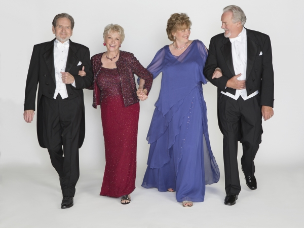 Robert Foxworth as Reginald Paget, Elizabeth Franz as Jean Horton, Jill Tanner as Cecily Robson, and Roger Forbes as Wilfred Bond
