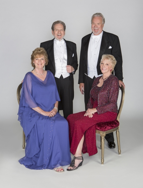 Jill Tanner as Cecily Robson, Robert Foxworth as Reginald Paget, Roger Forbes as Wilfred Bond, and Elizabeth Franz as Jean Horton