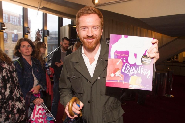Damian Lewis at the ELEPHANTOM opening