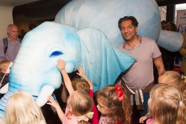 Nitin Ganatra with The Elephantom Photo