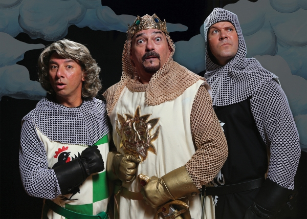 Photo Flash: First Look at DHT's SPAMALOT with Laurence Paxton & Kalia Medeiros