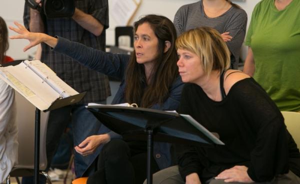 Director Diane Paulus and choreographer Mia Michaels Photo