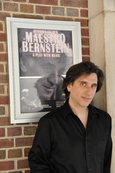 Photo Coverage: First Look at Hershey Felder in MAESTRO BERNSTEIN