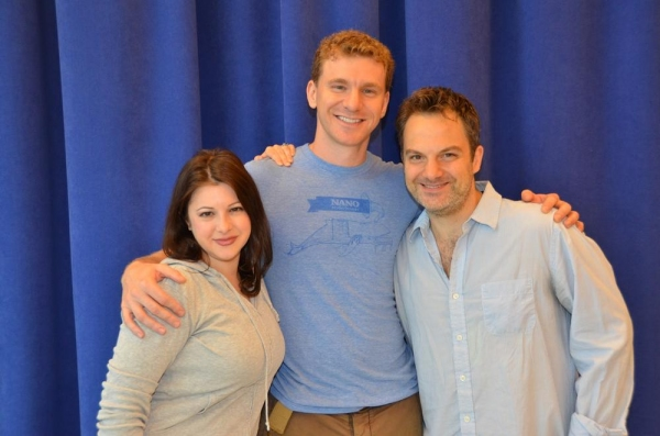 Marlo Hunter and Adam Overett with Vadim Feichtner Photo