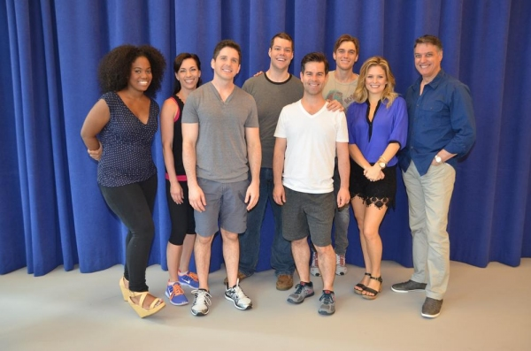 Photo Flash: In Rehearsal with Robert Cuccioli, Kathleen Elizabeth Monteleone, Justin Matthew Sargent and More for Bay Street's MY LIFE IS A MUSICAL