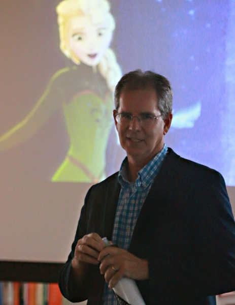 FROZEN Director Chris Buck addresses the BDF LA students