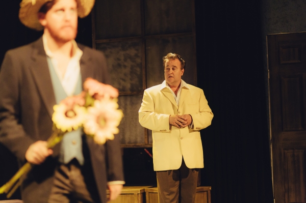 Jordan Foote (Vincent van Gogh) and Ned Averill-Snell (Bouchard)