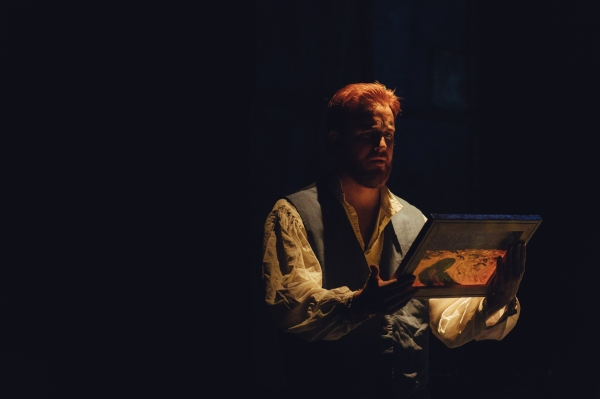 Photo Flash: First Look at Jordan Foote and More in Jobsite Theater's INVENTING VAN GOGH