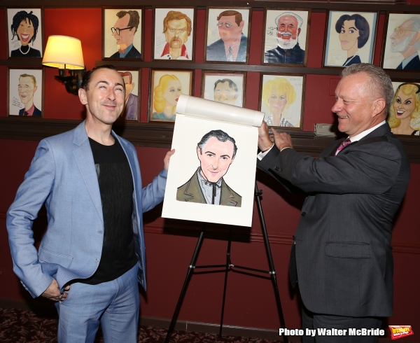Photo Coverage: CABARET's Alan Cumming Unveils Sardi's Caricature!