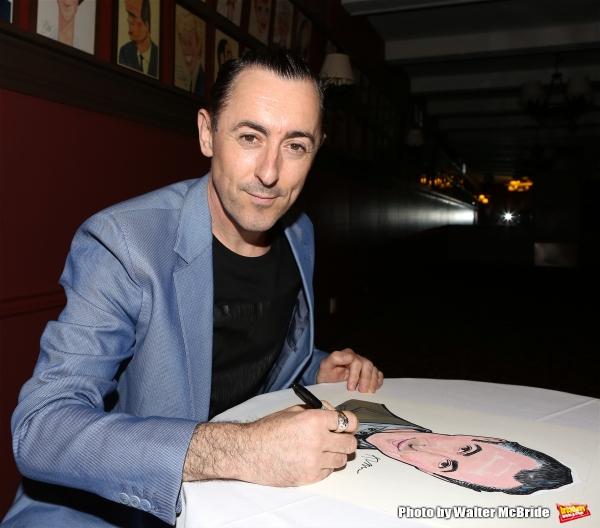 Photo Coverage: CABARET's Alan Cumming Unveils Sardi's Caricature!