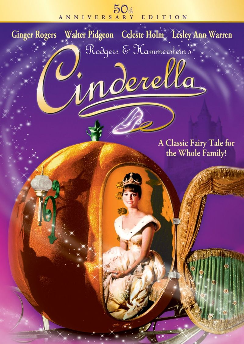 CINDERELLA Set For 50th Anniversary DVD Special Edition, Out 9/9