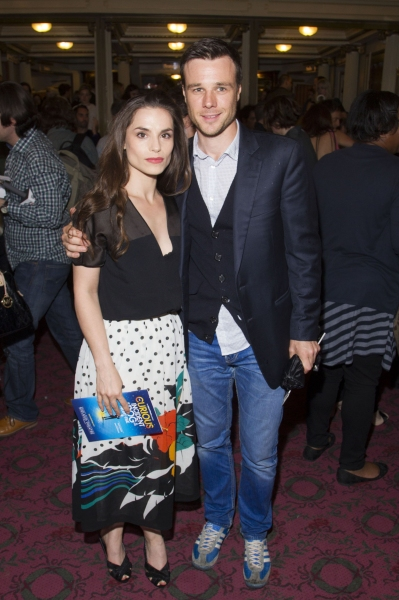 Charlotte Riley and Rupert Evans