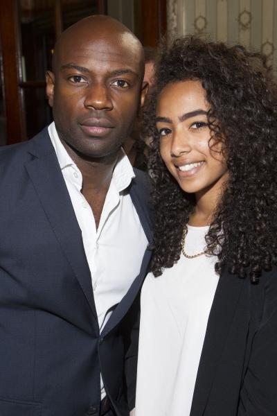 David Gyasi and Elena Gyasi  Photo