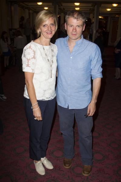 Marianne Elliott (Director) and Mark Haddon (Author)  Photo