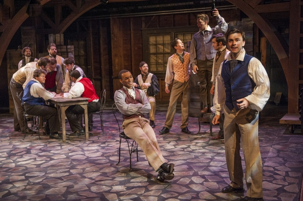 Photo Flash: First Look at Cortland Repertory Theatre's LES MISERABLES, Beginning Tonight