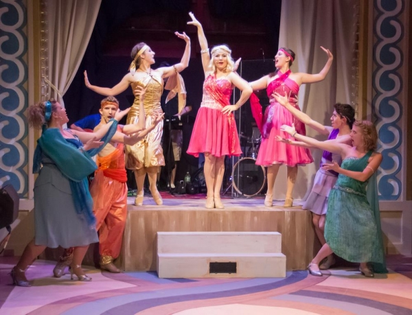 Photo Flash: First Look at Mazeppa Productions' XANADU
