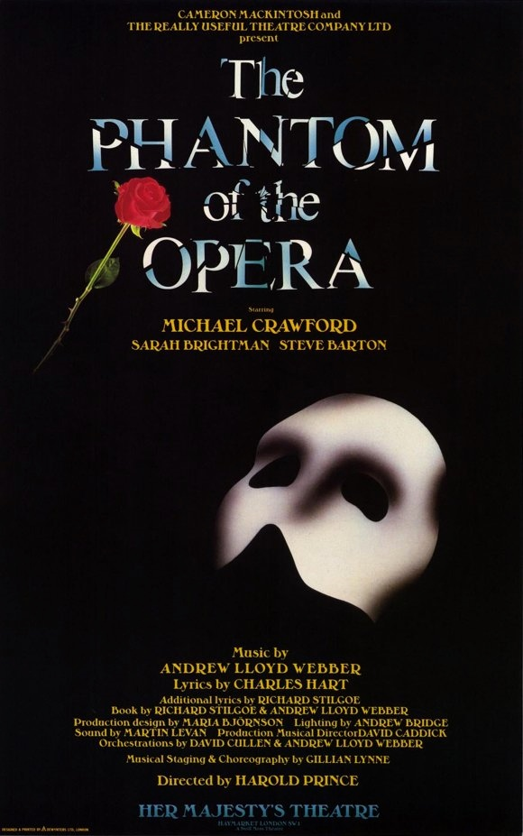 THEATRICAL THROWBACK THURSDAY: THE PHANTOM OF THE OPERA Marks 11,000 Masks