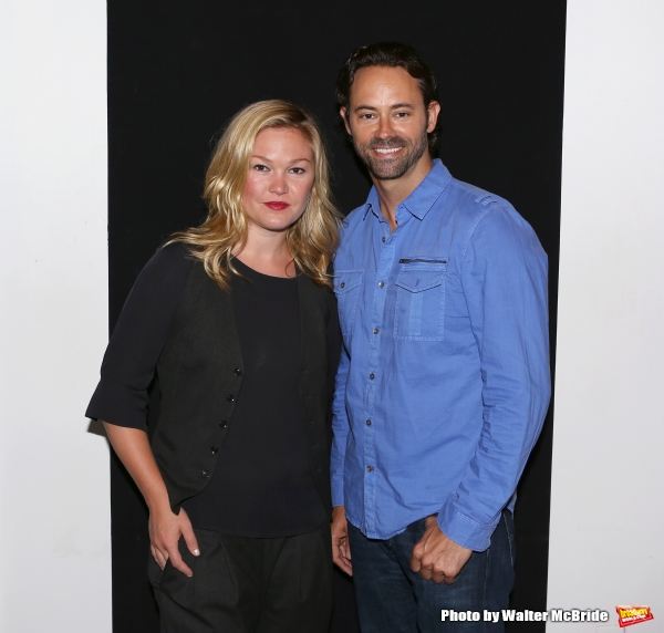 Photo Flash: PHOENIX's Julia Stiles and James Wirt Meet the Press!