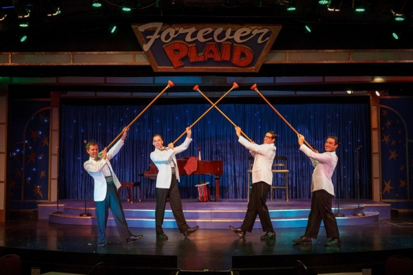 Photo Flash: First Look at Show Palace Entertainment's FOREVER PLAID, Opening Tonight
