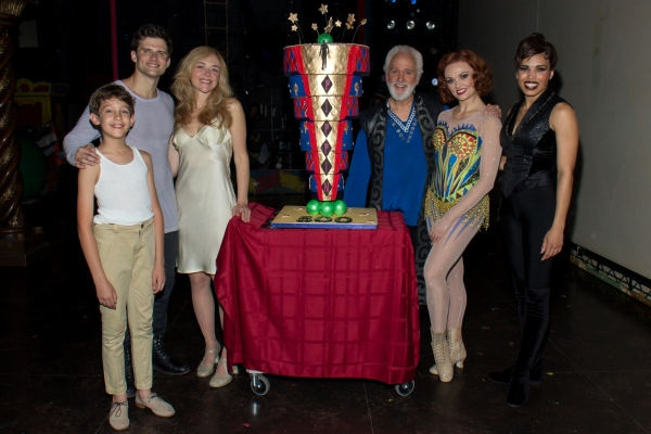 Photo Coverage: Still Making Magic! PIPPIN Cast Celebrates 500th Broadway Performance!