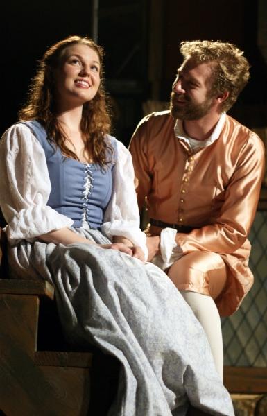 "Meg Warner (�""Anne Page"") and Fred Geyer (�""Fenton"")"