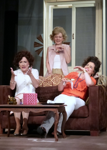 Latrelle''s version of the truth amuses Sissy and LaVonda. (from left) Alison Mattiza, Catherine Rahm, Samantha Barrios