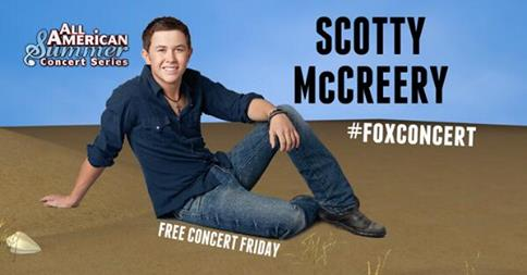 American Idol Scott McCreery Performs on FOX & FRIENDS Today