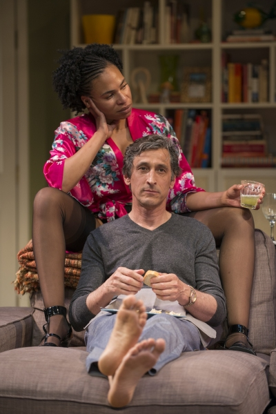 Regine (Karen Aldridge) and Roger (David Pasquesi)