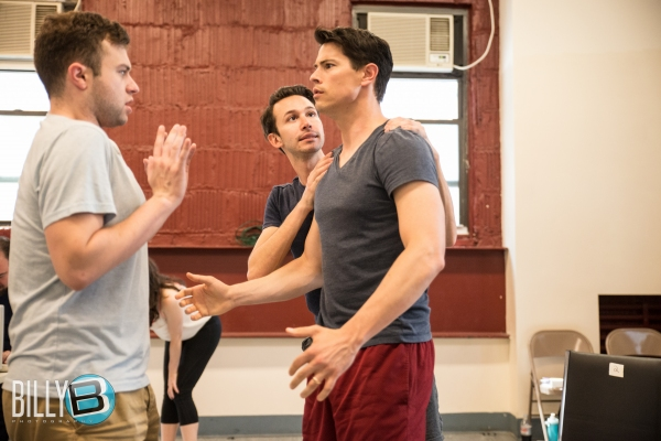 Photo Flash: In Rehearsal with NYMF's WIKIMUSICAL, Opening Tonight
