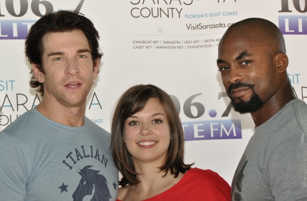Andy Karl, Margo Seibert and Terence Archie