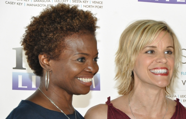 LaChanze and Jenn Colella