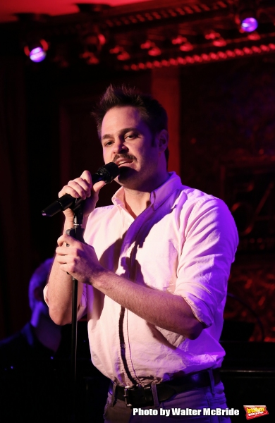 Photo Coverage: Mitchell Jarvis and Wesley Taylor Preview IT COULD BE WORSE Concert at 54 Below
