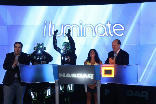 OSHUA ALDRIDGE, iLUMINATE Robots, MIRAL KOTB, NASDAQ VP DAVID WICKS