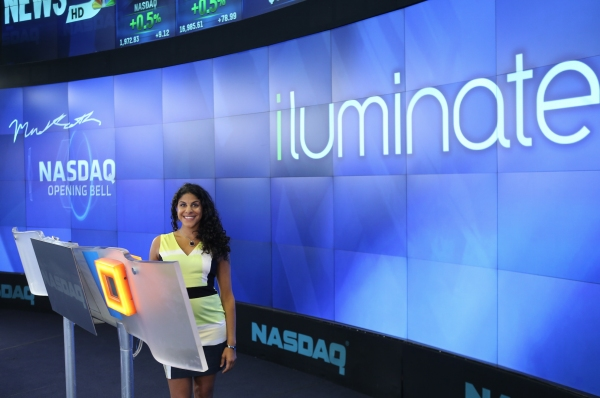 Photo Flash: Cast of iLUMINATE Rings NASDAQ Opening Bell