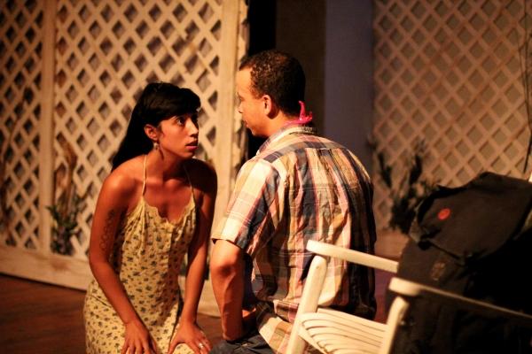 Jessica Marks and Tony Santiago Photo